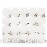 Набір пластикових новорічних куль 20 шт. D-3 см. 11616