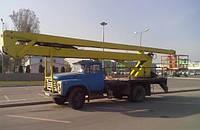 Почасовая аренда автовышки 18 метров