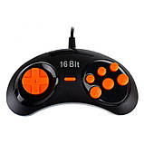 Игровая приставка Титан 4 HDMI 565 игр Черно - Оранжевая, фото 6