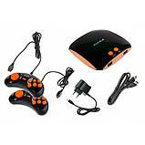 Игровая приставка Титан 4 HDMI 565 игр Черно - Оранжевая, фото 2