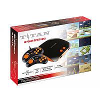 Игровая приставка Титан 4 HDMI 565 игр Черно - Оранжевая