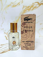 Lacoste Pour Femme жіночий масляний парфум 10 ml (репліка)