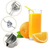Ручная портативная мини соковыжималка Manual Juice Press, фото 2