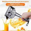Ручная портативная мини соковыжималка Manual Juice Press, фото 4