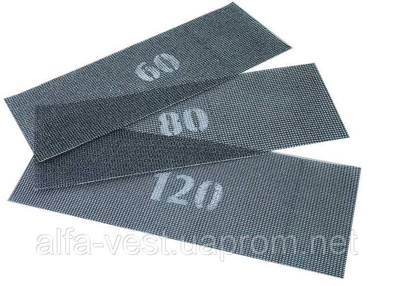 Сетка абразивная зерно 180 107*280 мм MASTERTOOL 08-0218