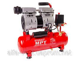 Компрессор PROFI OIL FREE 10 л, 600 Вт, 1450 об/мин, 7 атм, медная обмотка, бесшумный MPT MAC60103S