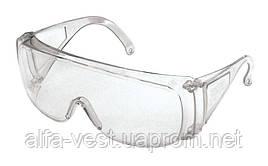 Очки защитные открытые ОЗОН прозрачные (соб. пр) MASTERTOOL 82-0051