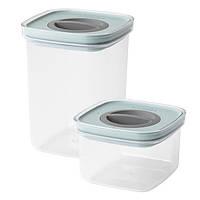 Набор контейнеры Berghoff LEO 3950145 (2 шт) смарт система   судок для еды Бергофф   пищевые судки