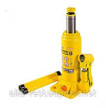 Домкрат гидравлический бутылочный  3 т, 194-372 мм MASTERTOOL 86-0030
