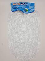 """Силиконовый коврик в ванну """"Икра"""" 39х67см., фото 1"""