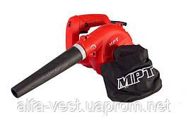Воздуходувка 400 Вт, 3 м.куб/мин, 0 - 14000 об/мин, регулировка скорости, режим пылесоса MPT MAB4006V