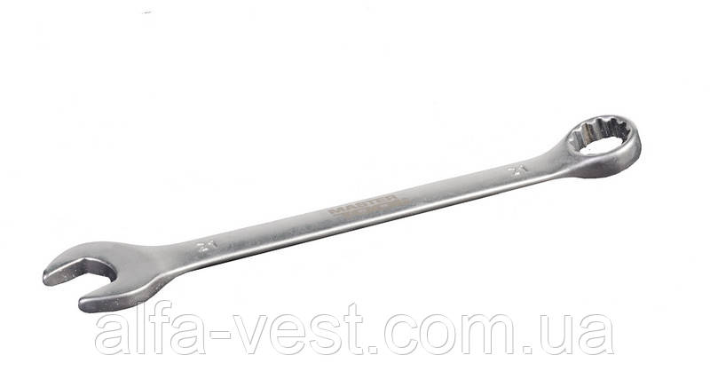Ключ рожково-накидной 21 мм SS MASTERTOOL 71-1021
