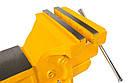 Тиски слесарные поворотные 150 мм MASTERTOOL 07-0215, фото 3