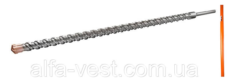 Сверло для бетона SDS-MAX 40*1000 QUADRO S4 GRANITE 4-40-100