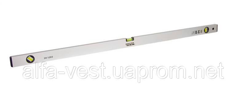 Уровень усиленный 120 см, 3 капсулы MASTERTOOL 34-1203