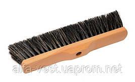 Щетка для пола 320*70*100 мм конский волос деревянная без ручки ГОСПОДАР 14-6341