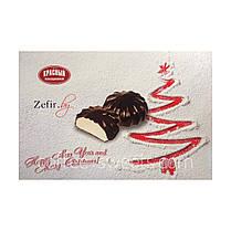 Зефир Красный пищевик 250г в шоколаде ванильный, фото 3