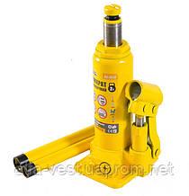 Домкрат гидравлический бутылочный  2 т, 181-345 мм MASTERTOOL 86-0020