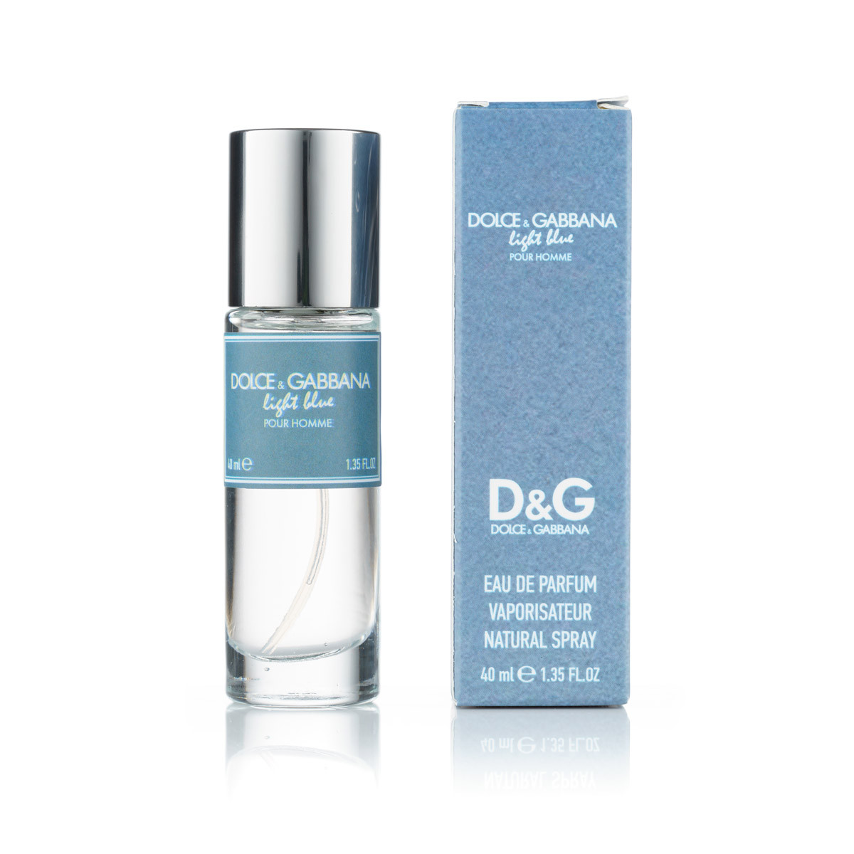 40 мл мини парфюм Dolce & Gabbana Light Blue Pour Homme - М (320)