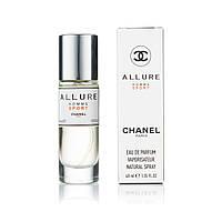 Чоловічий міні-парфуми Allure Homme Sport (40 мл )