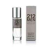 40 мл мини парфюм Carolina Herrera 212 Men - М (320)