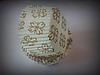 """Форма для маффинов """"орнамент золото""""(код 01725)"""