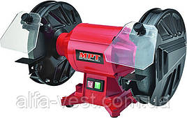 Точильная машина PROFI 200*12,7 мм, 370 Вт, 2950 об/хв, мідна обмотка MPT MBG2003