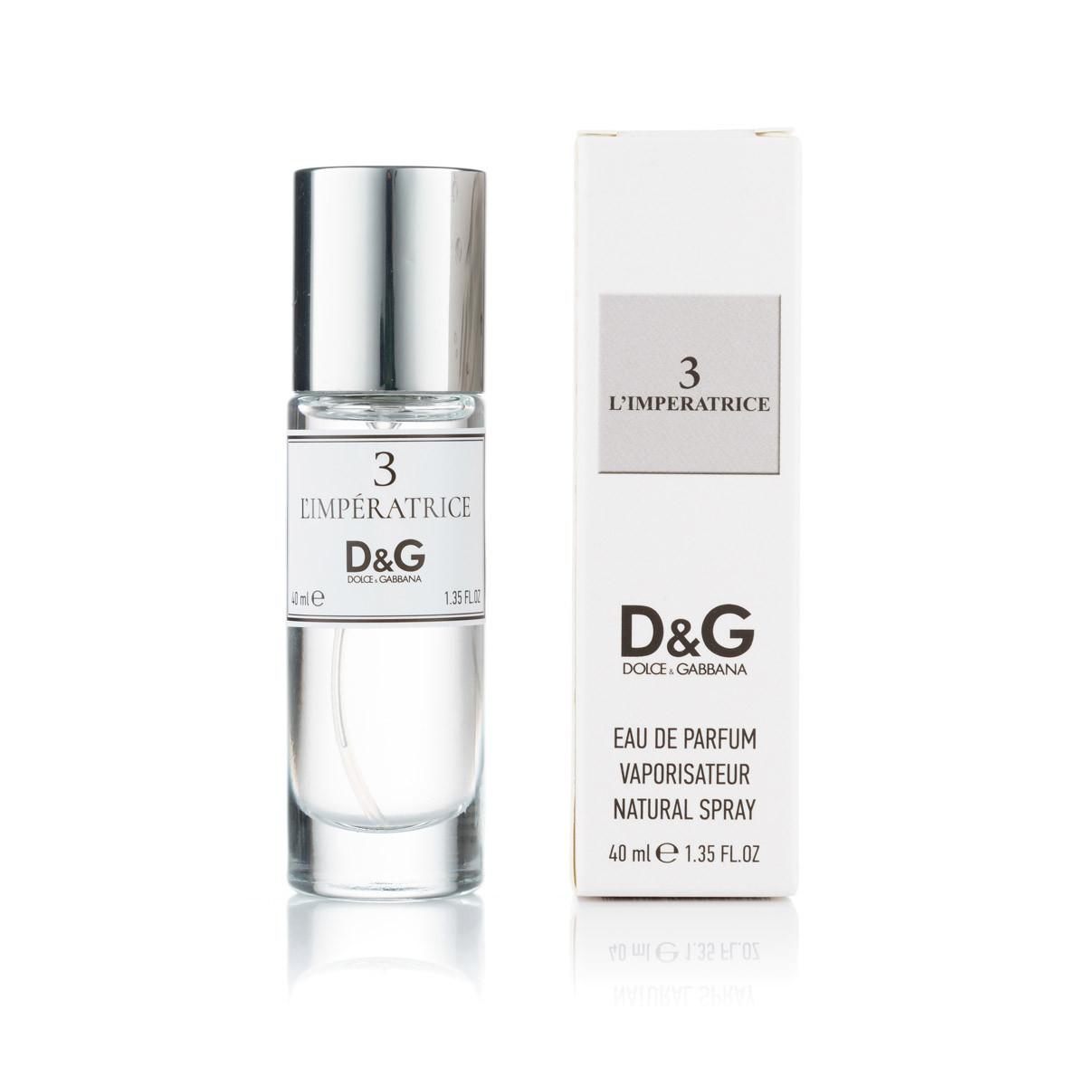 Жіночий Міні-парфуми Dolce & Gabbana 3 L ' imperatrice ( 40 мл )