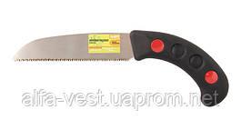 """Ножовка садовая """"Самурай"""" 170 мм, 9TPI, каленый зуб, 3-D заточка MASTERTOOL 14-6012"""