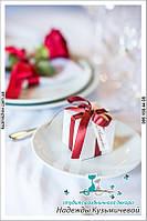 Свадебное оформление в цвете марсала