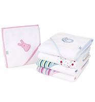 Полотенце с капюшоном для младенцев 95x80см, Canpol babies - в ассортименте, фото 1