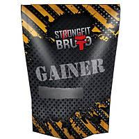 Гейнер Strong Fit Bruto Gainer, 909 грамм Лесная ягода