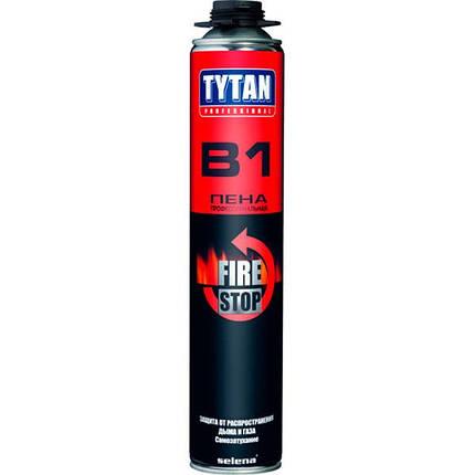 Пена монтажная Tytan Professional Огнестойкая B1 750 мл, фото 2