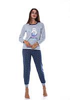 Пижама женская теплая, фото 1