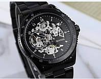 Мужские механические часы Winner Skeleton, фото 1