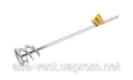 Миксер для красок и смесей ленточный D  60 мм L 400 мм MASTERTOOL 80-0016