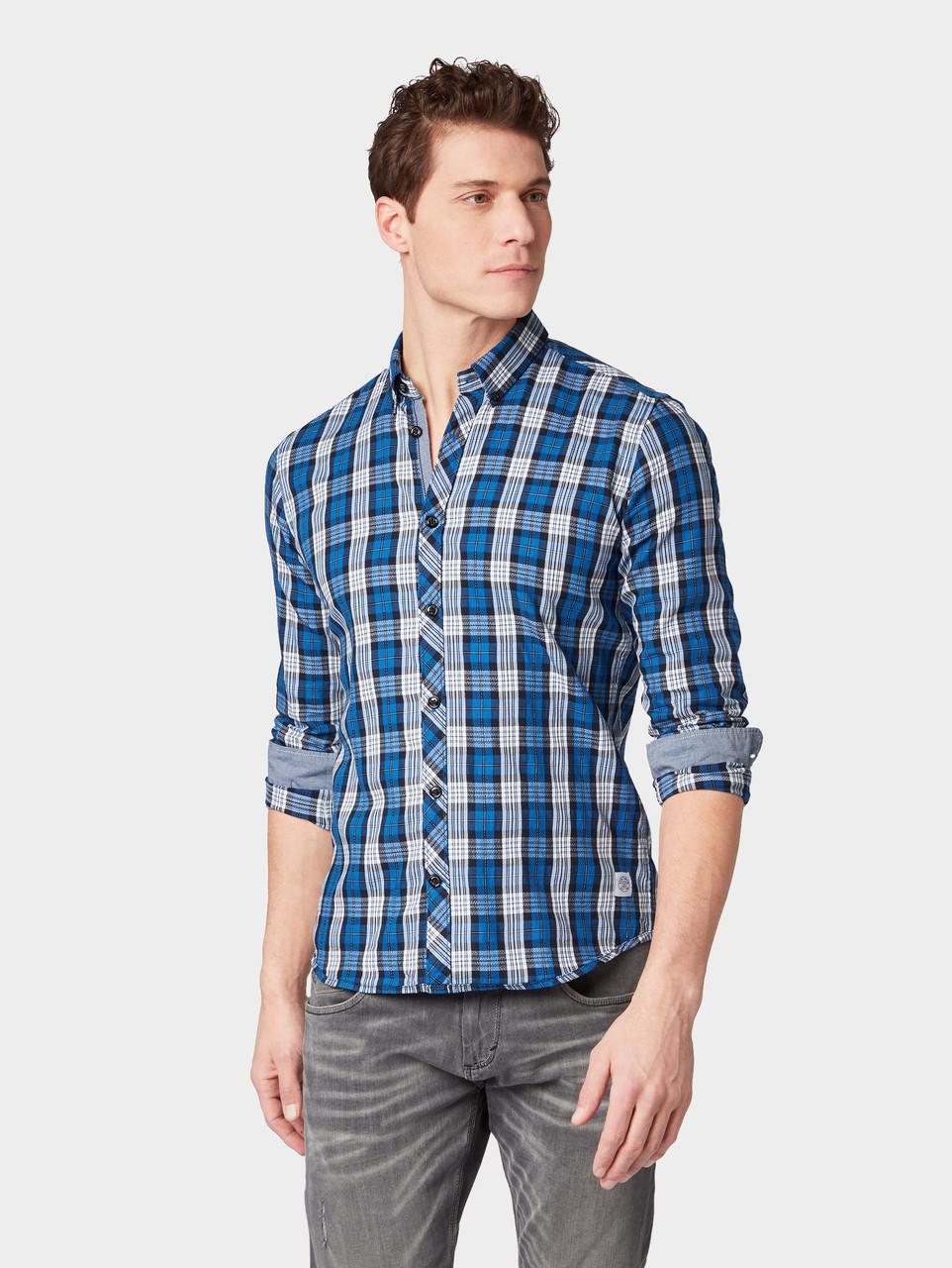 Рубашка Tom Tailor 1008826 S Синий
