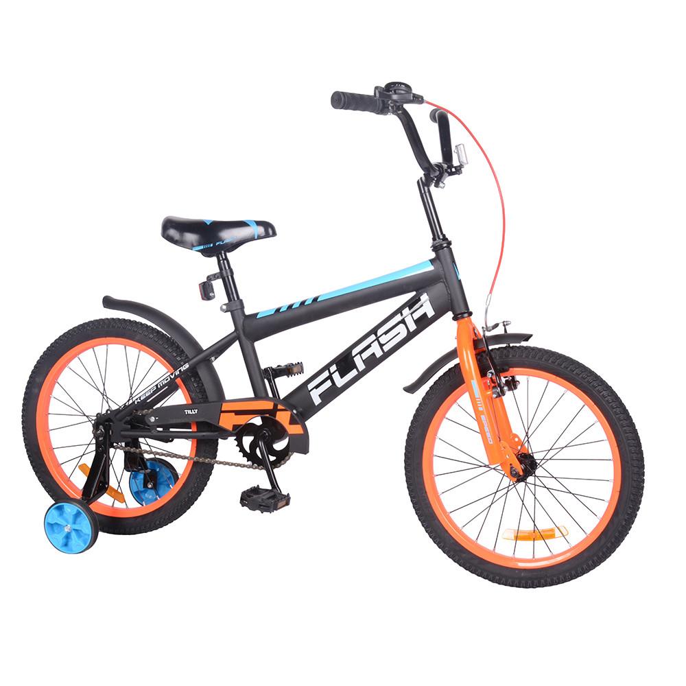 """Велосипед FLASH 18"""" T-21846 orange /1/"""