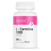 Жиросжигатель OstroVit L-Carnitine 1000, 90 таблеток