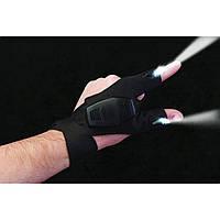 Перчатки с подсветкой Atomic Beam Glove (hand-free light)