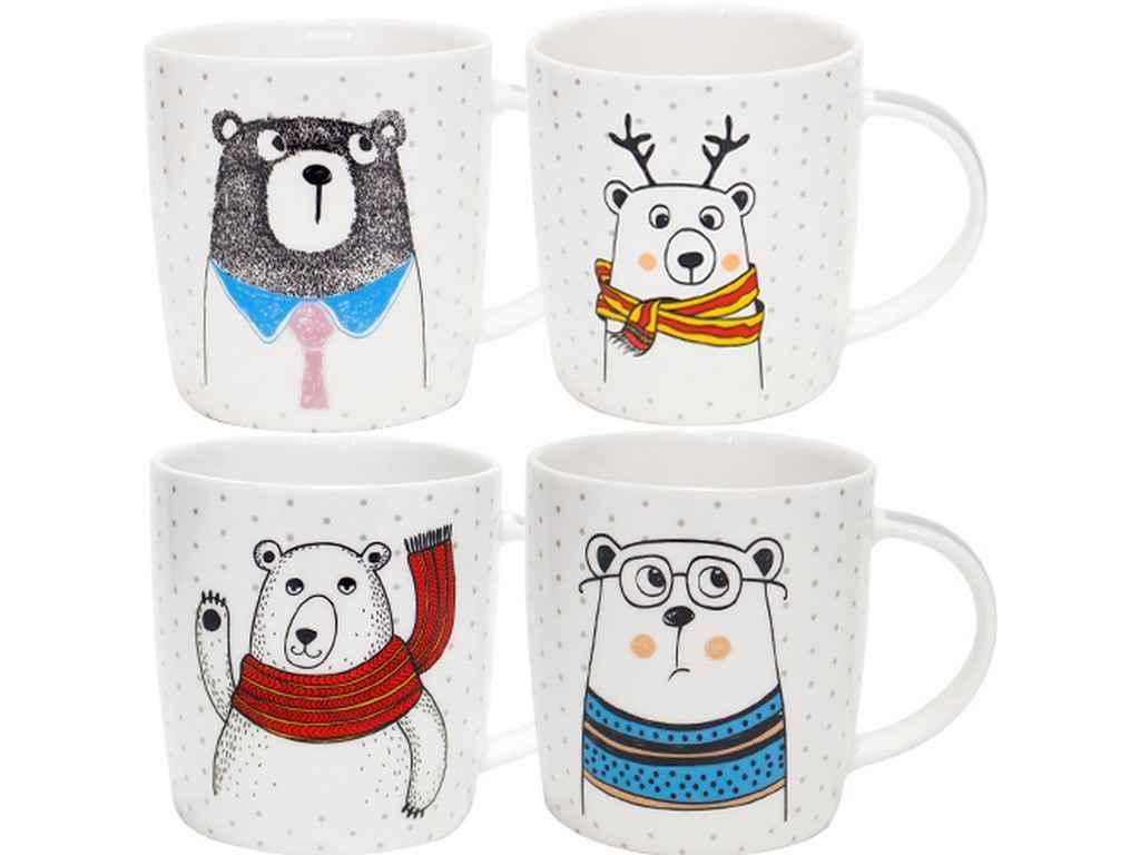 Чашка фарфор SNT Bear style 330 мл (4160-45)