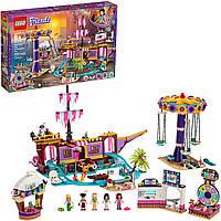 Конструктор Лего Френдс Парк развлечений на набережной 1251 деталь Lego Friends 41375 Heartlake City Amusement
