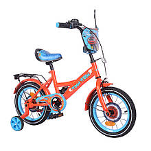 "Велосипед TILLY Vroom 14"" T-214212/1 red+blue /1/"