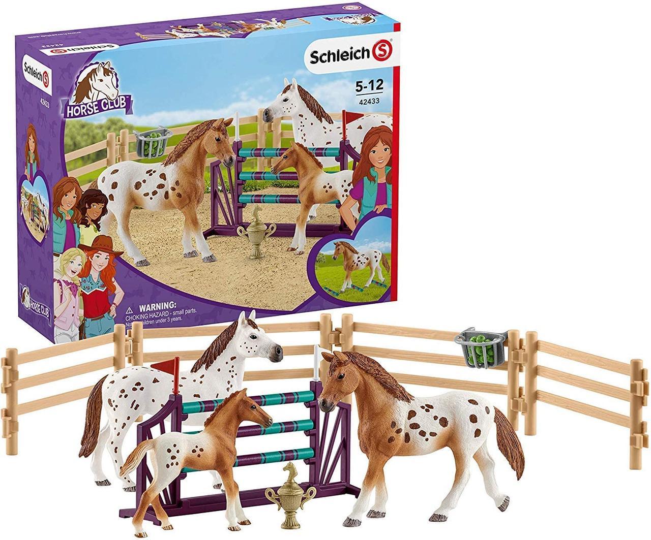Schleich 42433 Тренировка Аппалузьких лошадей (Германия)