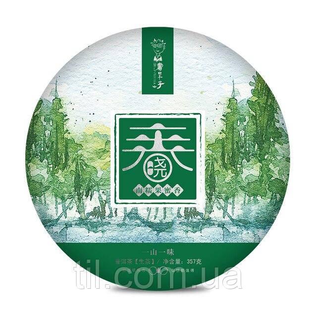 Доктор ЧАЙ Шен ПУЭР Chunxiao Series Nan Nuo  2020 357g.Оригинал