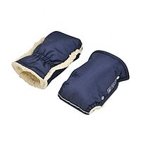 Теплі зимові рукавички на овчині для колясок, для санок