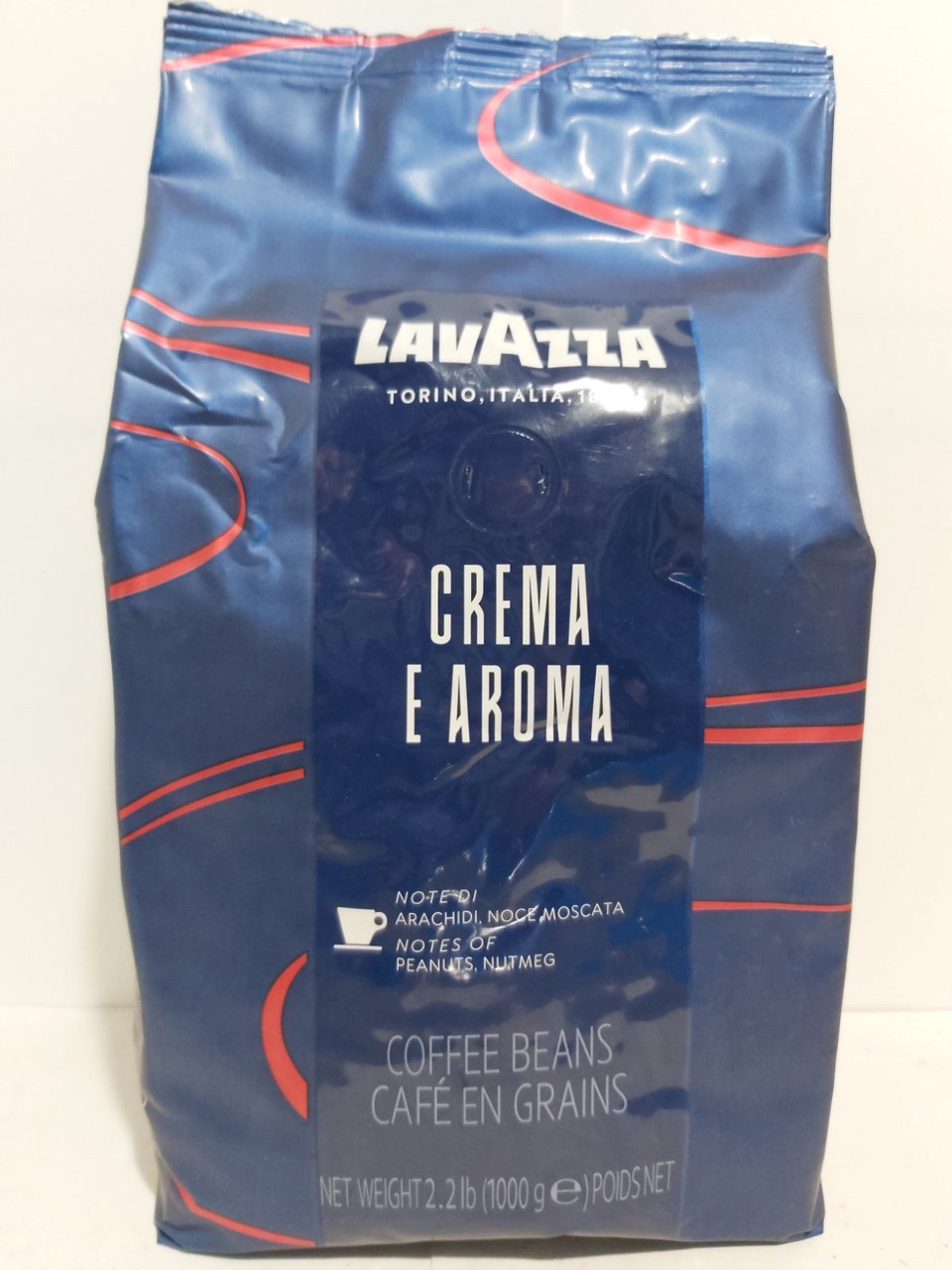 Кофе Lavazza Crema e Aroma Espresso в зернах 1000g