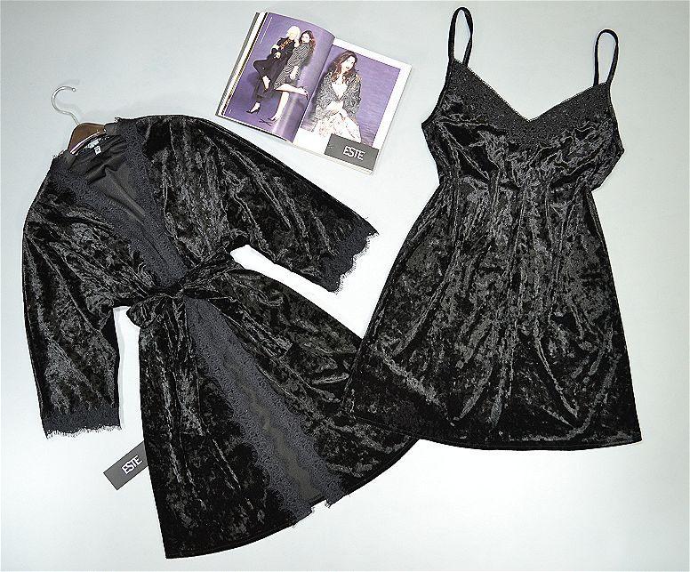Женский  халат и пеньюар из мраморного велюра. Домашняя одежда женская.