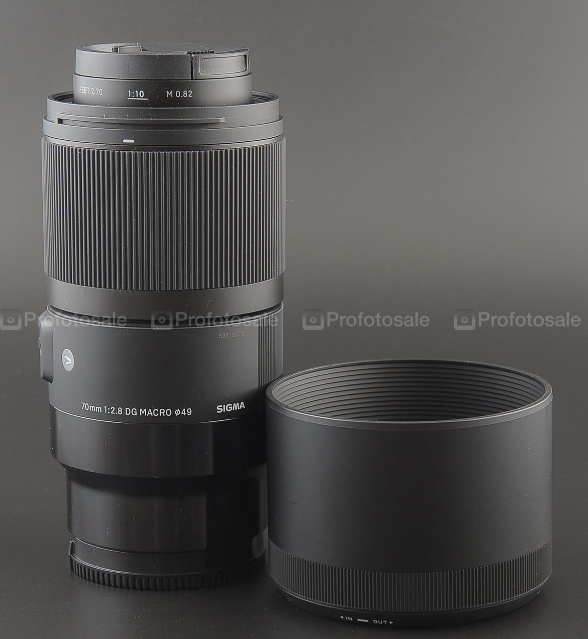 Sigma ART 70mm f2.8 DG macro Sony FE
