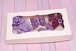 Набор украшений Okl  сиренево-фиолетовый РР 331, фото 2